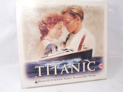 Titanic Special Edition With Photo Frames, & Pictures VHS