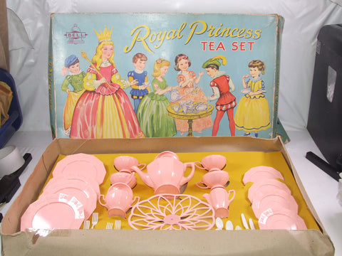 Bell Royal Princess Childrens Toy Tea Set Boxed
