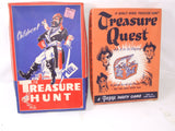 Children's Treasure Hunt & Treasure Quest Family Game Both Vintage