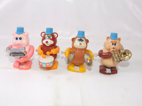 Tomy Comics Not So Grand Band x 4 Wind Up Toys