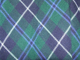 "Ladies Tartan Skirt 32"" Waist Pleats Vintage - Vintage Retro And Vinyl - 4"