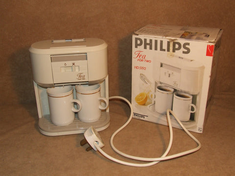 Philips Tea For Two HD5192 Tea Maker Boxed Has Been PAT Tested