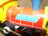 Toot Toot Train By Fisher Price Made In Great Britain 1964 # 643 - Vintage Retro And Vinyl - 2