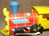 Toot Toot Train By Fisher Price Made In Great Britain 1964 # 643 - Vintage Retro And Vinyl - 5
