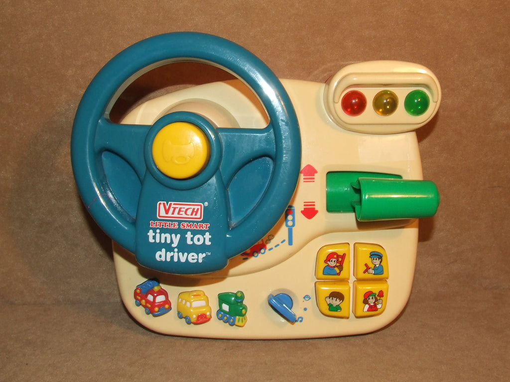 VTech Little Smart Tiny Tot Driver Music And Sound Effects - Vintage Retro And Vinyl - 1