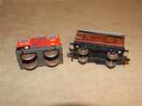 Hornby Duplo OO Gauge 3 Rail Track Including Points & 2 x Tinplate Wagons - Vintage Retro And Vinyl - 11