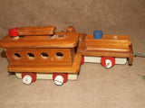 Wooden Pull Along Train With Alphabet & Number Learning Tiles - Vintage - Vintage Retro And Vinyl - 6