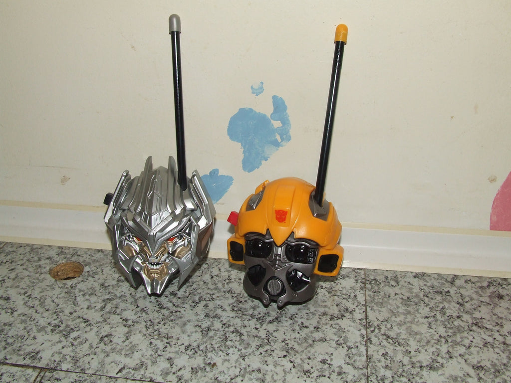 Transformers Walkie Talkies Pair Working No Box - Vintage Retro And Vinyl - 1
