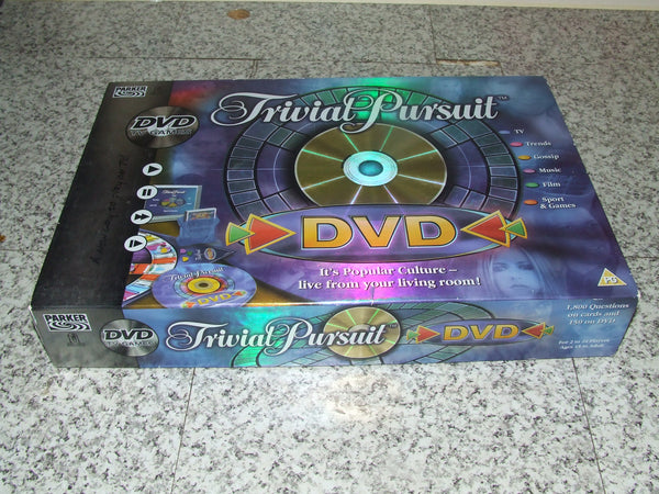 DVD Trivial Pursuit Parker Games 15+