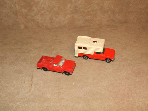 Lesney Matchbox Jeep Gladiator And Superfast Camper No 71 And 38 VTG 1960's/70's - Vintage Retro And Vinyl - 1