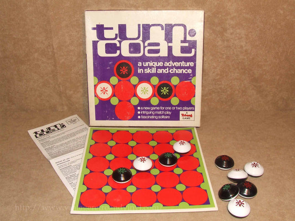 Turncoat Game Boxed & Complete - A Triang Game - Vintage - Good Condition - Vintage Retro And Vinyl - 1