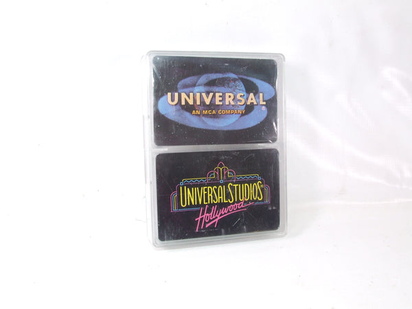 Universal Studios Hollywood Twin Pack Of Souvenir Playing Cards Both Sealed