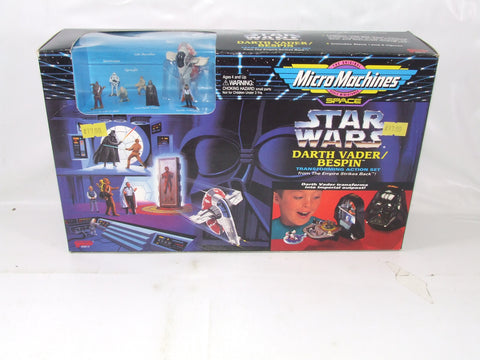 Micro Machines Darth Vadar/Bespin Transforming Action Set Star Wars Empire Strikes Back