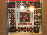 Vectorace Space Game Contents In excellent Condition Very Rare 1980's Board Game - Vintage Retro And Vinyl - 3