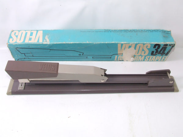 Vintage Velos 347 Long Arm Stapler Boxed In Fabulous Condition