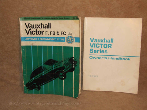 Vauxhall Victor Series Handbook & Servicing Manuals - Vintage - Vintage Retro And Vinyl - 1