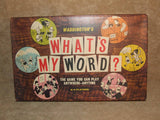 Whats My Word Waddingtons Boxed And Complete Vintage 1964 Very Good Condition - Vintage Retro And Vinyl - 1