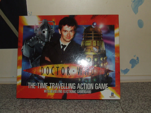 Doctor Who The Time Travelling Action Game