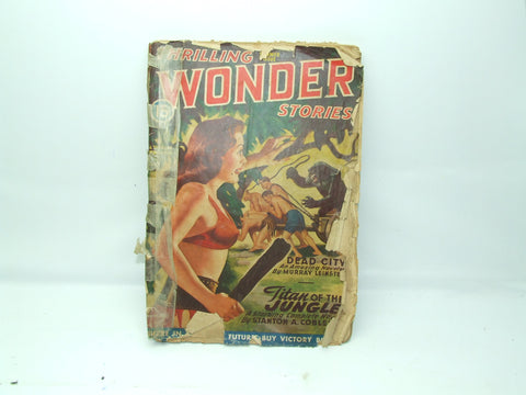 Thrilling Wonder Stories Sci-Fi Magazine Summer 1946