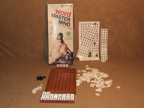 Word Mastermind By Invicta Boxed And Complete Many Letters Still Carded Vintage - Vintage Retro And Vinyl - 1