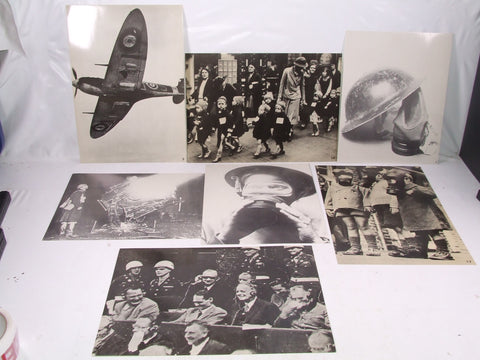Fabulous WWII Black & White Photo Prints x 7