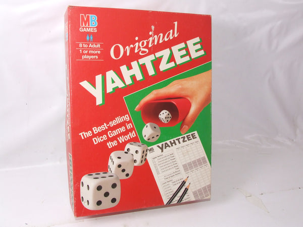 Original Yahtzee The Best Selling Dice Game In The World