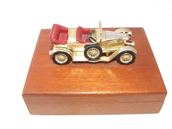 Matchbox Lesney Golden Y2 1914 Prince Henry Vauxhall Wooden Cigarette or Card Box