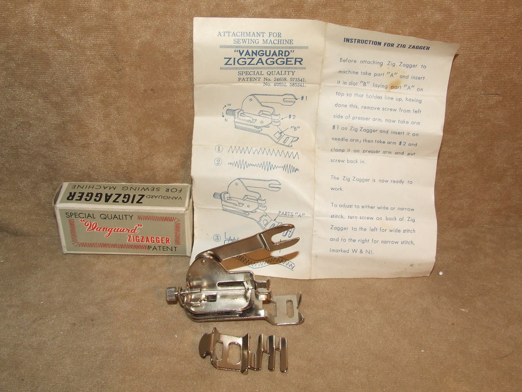 Vanguard Zigzagger Boxed And Complete With Instructions - Vintage Retro And Vinyl - 1