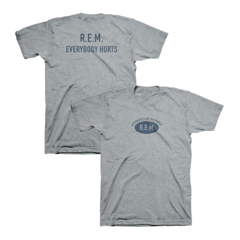Everybody Hurts Logo Throwback Tee - R.E.M.  - 1