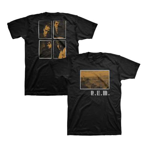 Athens Postcard Throwback Tee - R.E.M.  - 1