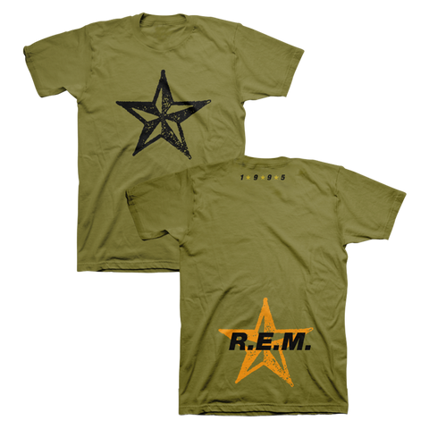 Star Throwback Tee - R.E.M.  - 1