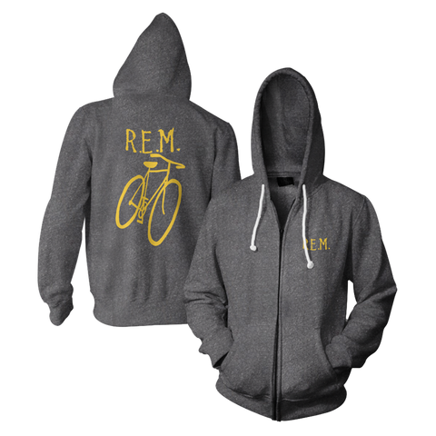 Little America Bicycle Throwback Hoodie - R.E.M.  - 1