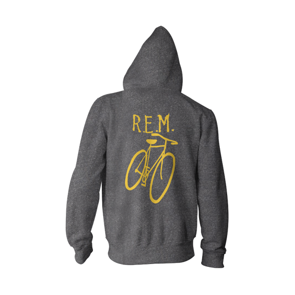 Little America Bicycle Throwback Hoodie - R.E.M.  - 3