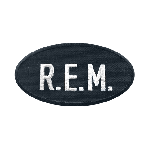 R.E.M. Logo Patch - R.E.M.