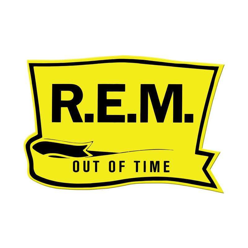 Out of Time Embroidered Patch - R.E.M.