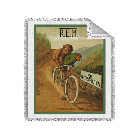 Monkey on a Bicycle Blanket - R.E.M.