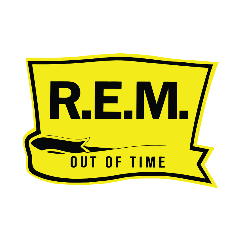 Out of Time Sticker - R.E.M.