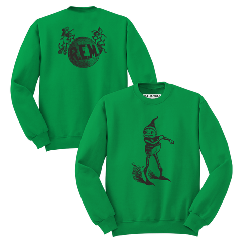 'Elf' Sweatshirt (Irish Green) - R.E.M.  - 1