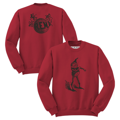 'Elf' Sweatshirt (Antique Cherry Red) - R.E.M.  - 1