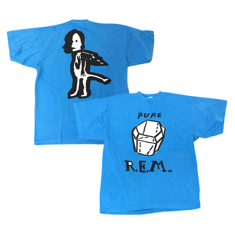 Blue Pure R.E.M. Originals Tee - R.E.M.  - 1