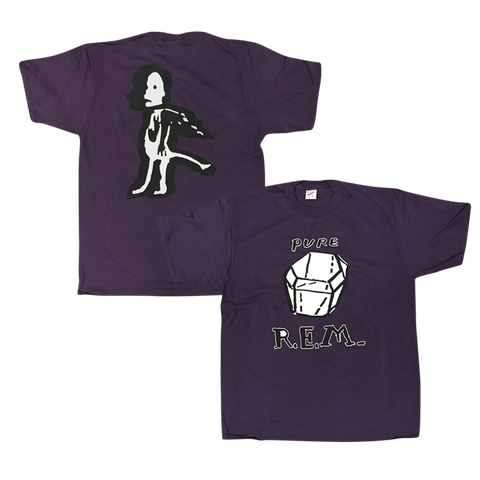 Purple Pure R.E.M. Originals Tee - R.E.M.  - 1