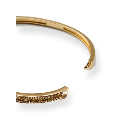 Belt Bangle / Cuff 18kts of Gold Plated Bracelet