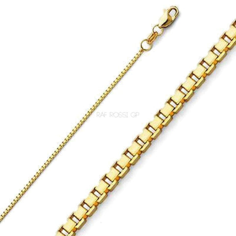 10Mm Figaro Lobster 2 Tones 18Kts Gold Plated Chain