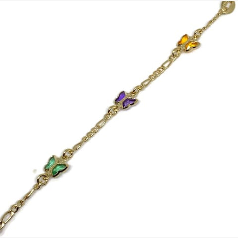 Anklet 18ktds Of Gold Plated