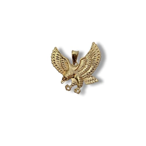 Eagle Pendant in 18Kts Of Gold Plated