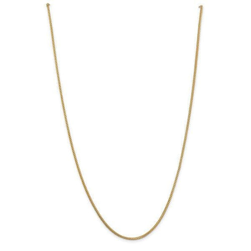 Franco 1Mm 18Kt Gold Plated Chain Chains