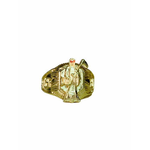 Grim Reaper Ring in 18k of Gold Plated Rings
