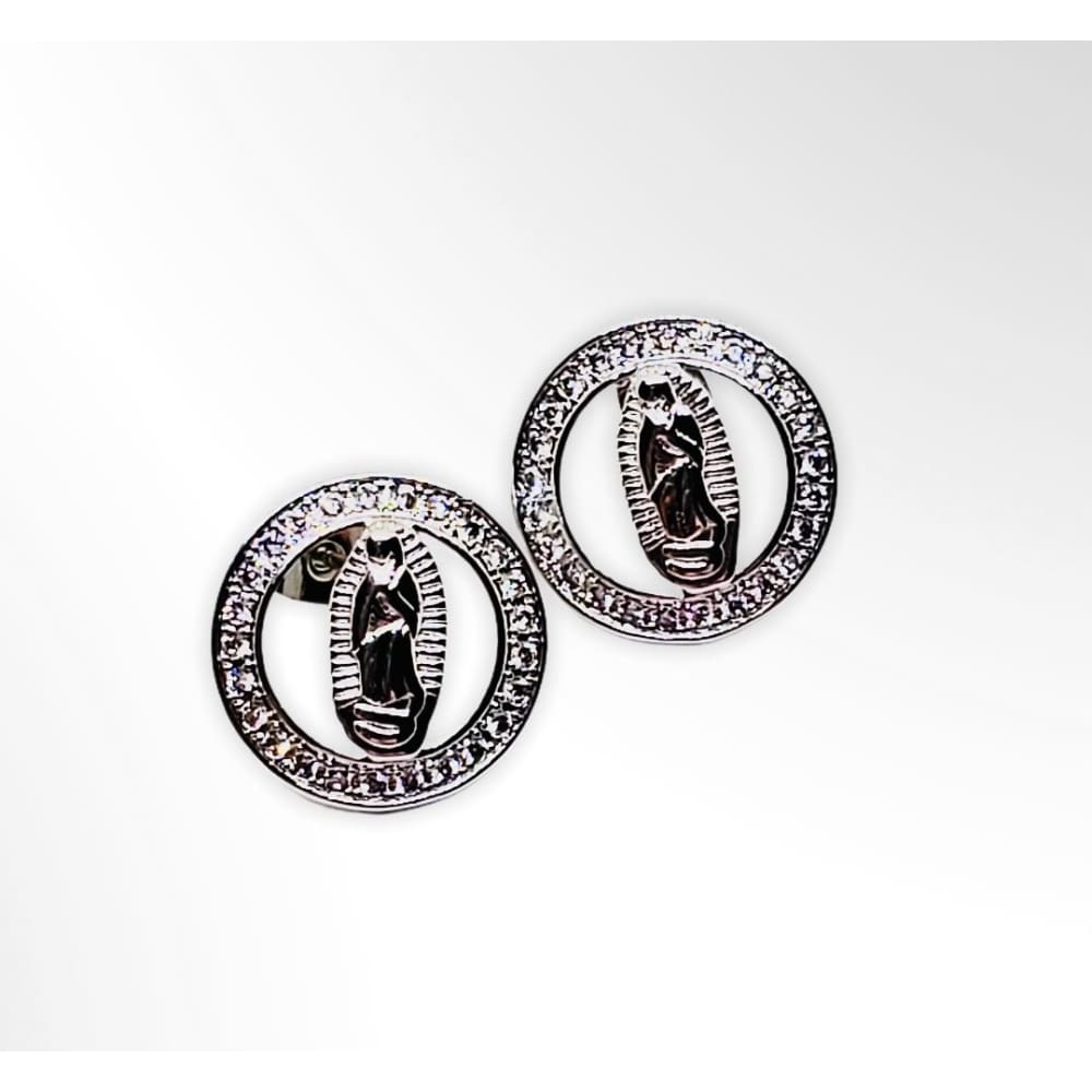 Guadalupe Set Silver Plated Charms