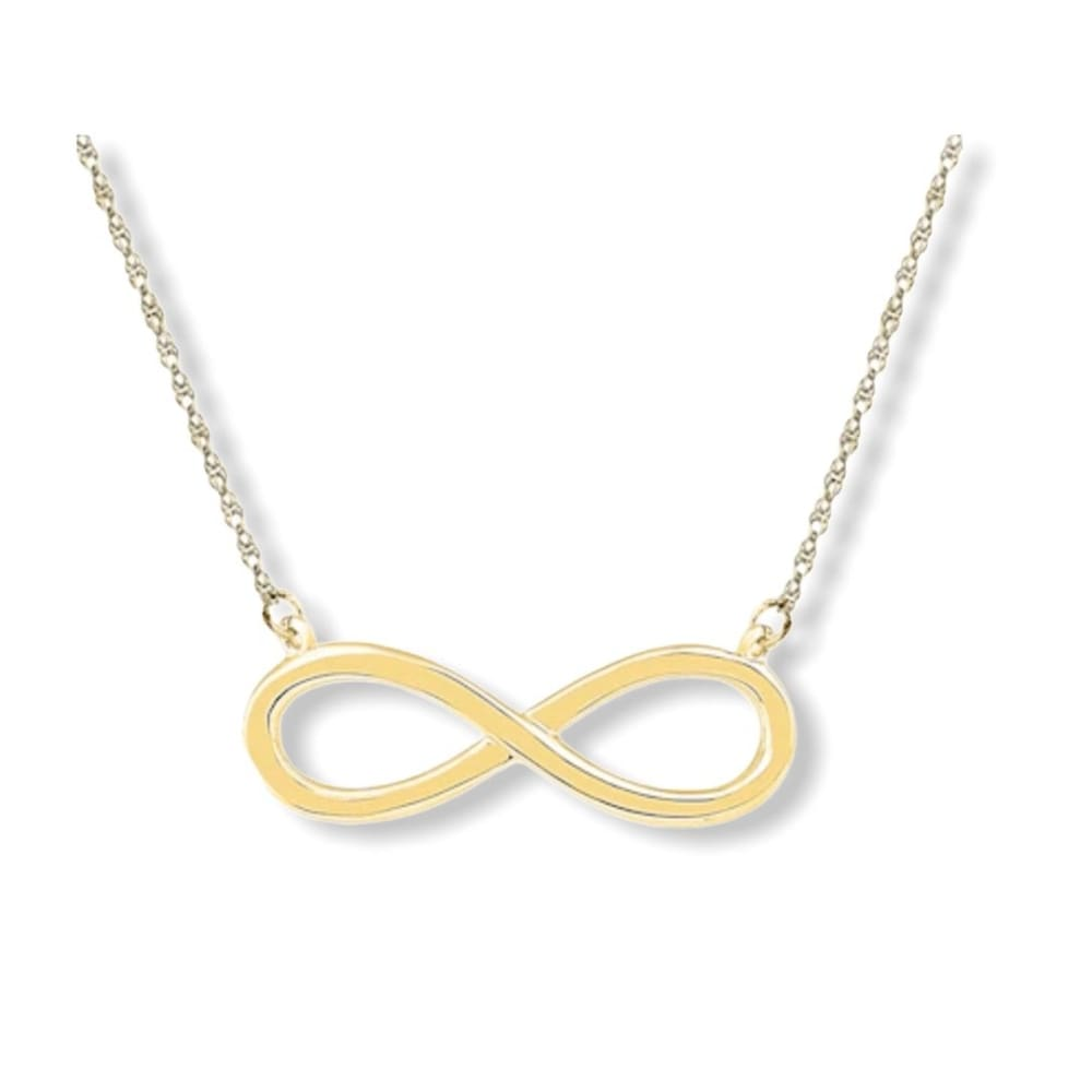 Infinity 18kts Gold Plated Chain Chains