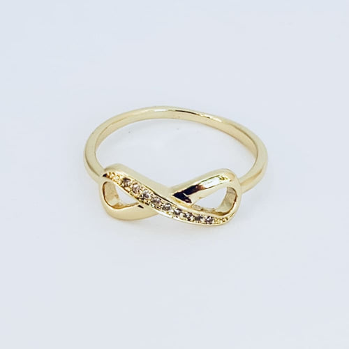Infinity Ring 14Kts of Gold Plated Rings